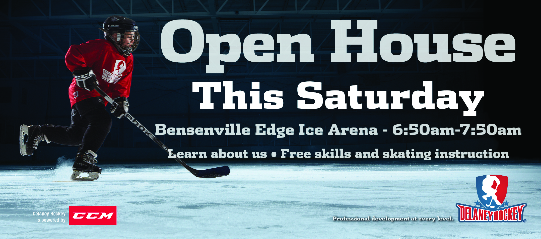 Delaney Hockey Bensenville Open House